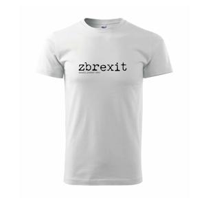 Čeština 2.0 - zbrexit - Triko Basic Extra velké