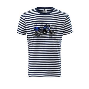 Cestovní enduro modré - Unisex triko na vodu