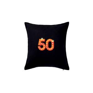 Čísla žárovky 50 - Polštář 50x50
