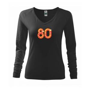Čísla žárovky 80 - Triko dámské Elegance