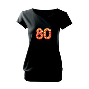 Čísla žárovky 80 - Volné triko city