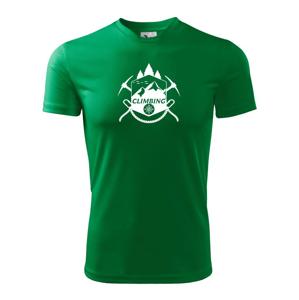 Climbing Erb - Dětské triko Fantasy sportovní (dresovina)