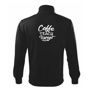 Coffe teach repeat - Mikina bez kapuce Adventure