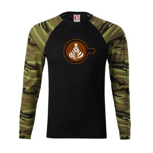 Coffee art - Camouflage LS
