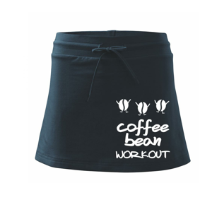 Coffee bean workout - Sportovní sukně - two in one