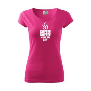 Coffee make my day - Pure dámské triko
