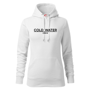 Cold water crew - Mikina dámská Cape s kapucí