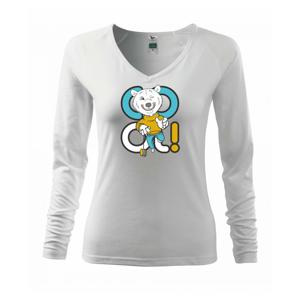 Cool medvěd - Triko dámské Elegance