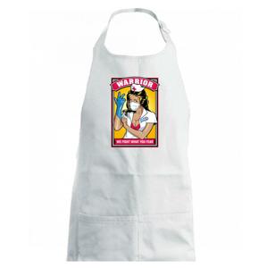 Corona Nurse warrior - Zástěra na vaření