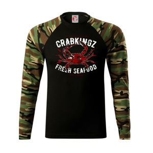 Crab seafood - Camouflage LS