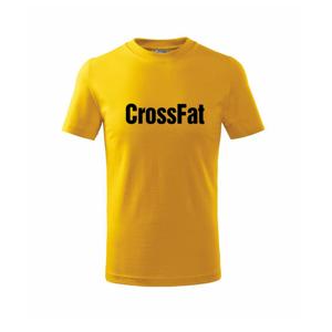 CrossFat - Triko dětské basic