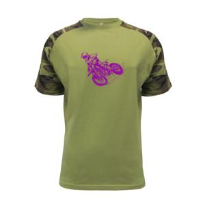 Crosska fialová - Raglan Military