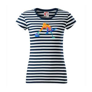 Curling splash - Sailor dámské triko
