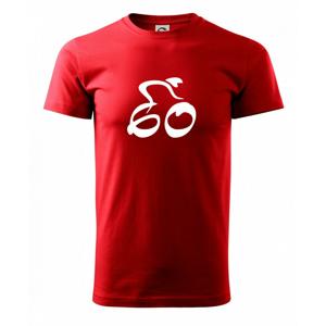 Cyklista slaví šedesátku - Triko Basic Extra velké