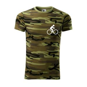 Cyklistika logo prsa - Army CAMOUFLAGE