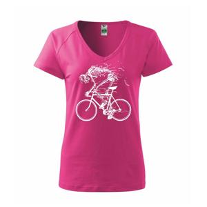 Cyklo kostra - Tričko dámské Dream
