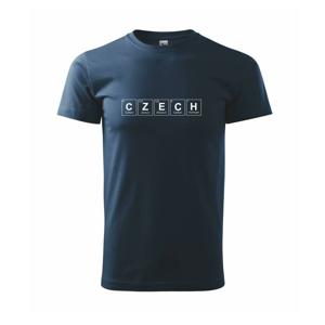 CZECH - periodická tabulka - Triko Basic Extra velké