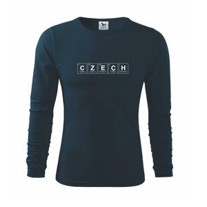 CZECH - periodická tabulka - Triko s dlouhým rukávem FIT-T long sleeve