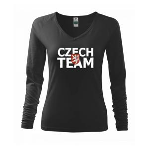 Czech team - Český lev - Triko dámské Elegance