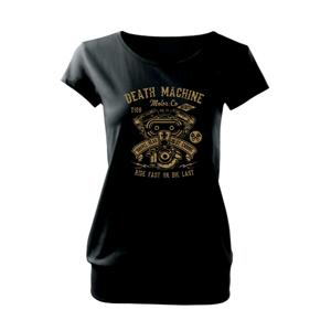 Death Machine - Volné triko city