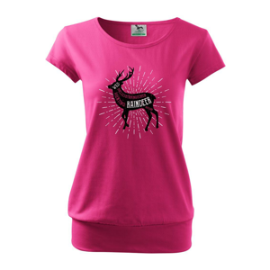 Deer raindeer - Volné triko city