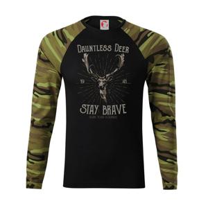 Deer staybrave - Camouflage LS