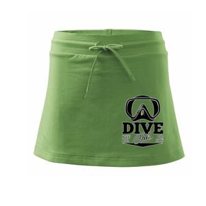 Dive club - waikiki - Sportovní sukně - two in one
