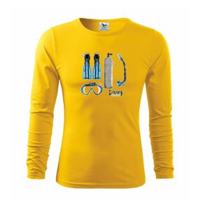 Diving elements - Triko s dlouhým rukávem FIT-T long sleeve