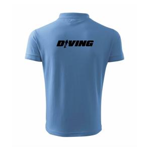 Diving nápis potápěč - Polokošile pánská Pique Polo 203
