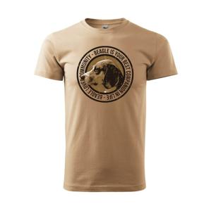 Dog beagle - Heavy new - triko pánské