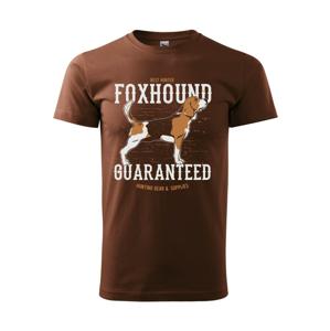 Dog foxhound - Heavy new - triko pánské