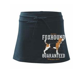 Dog foxhound - Sportovní sukně - two in one