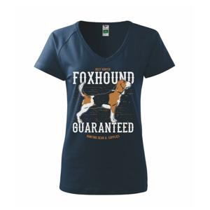 Dog foxhound - Tričko dámské Dream