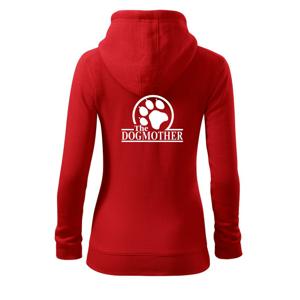 Dogmother - Dámská mikina trendy zippeer s kapucí