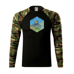 Downhill and free (holka / kluk) - Camouflage LS