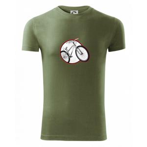 Downhill kolo v kruhu - Viper FIT pánské triko