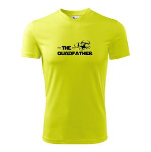 Dron quadfather - Pánské triko Fantasy sportovní (dresovina)
