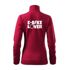 E-bike lover - Mikina dámská Viva bez kapuce