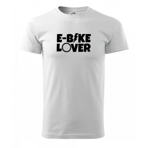 E-bike lover - Triko Basic Extra velké