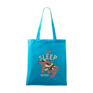Eat Sleep Fly Repeat letadlo - Taška malá