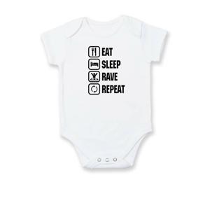 Eat sleep rave repeat - Body kojenecké