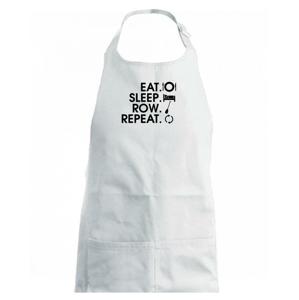 Eat sleep row repeat - Dětská zástěra na vaření