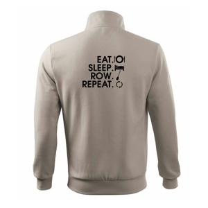 Eat sleep row repeat - Mikina bez kapuce Adventure