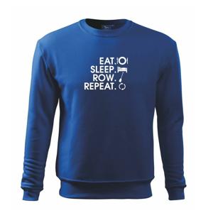 Eat sleep row repeat - Mikina Essential pánská