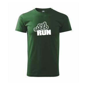 Eat sleep run velké - Triko Basic Extra velké