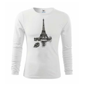 Eiffelovka s loďkou - Triko dětské Long Sleeve