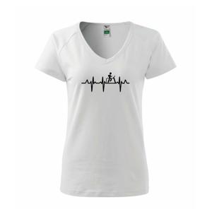 EKG běžecký pás - Tričko dámské Dream