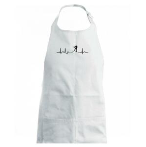 Ekg běžkař - Dětská zástěra na vaření