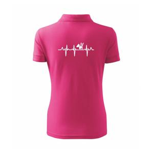EKG diabolo - Polokošile dámská Pique Polo
