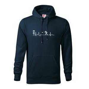 EKG disc golf - Mikina s kapucí hooded sweater
